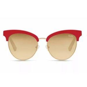"QUAY AUSTRALIA ""Cherry"" (Mirrored) Sunglasses"